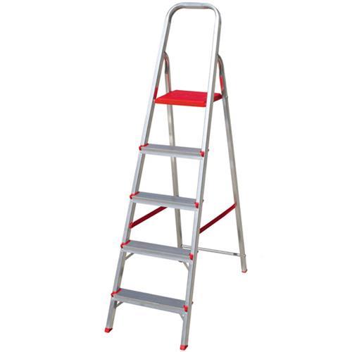 Escada de Alumínio 5 Degraus - ESC0064 - BOTAFOGO