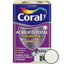 Acrílico Total Semi Brilho Branco 18 Litros - CORAL