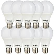 Kit 10 Lâmpadas LED Bulbo 4,8W 6500K - GALAXY LED