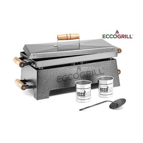Churrasqueira a Álcool ECCOGRILL Completa - VM Utilidades