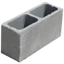 Bloco de Concreto Vedação 19x19x39cm Com Fundo - VB BLOCOS