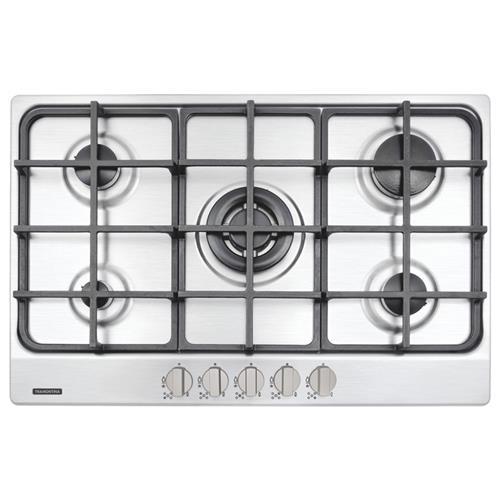 Cooktop em Aço Inox a Gás New Penta 5GX TRI 75 SS - 94716/114 - TRAMONTINA